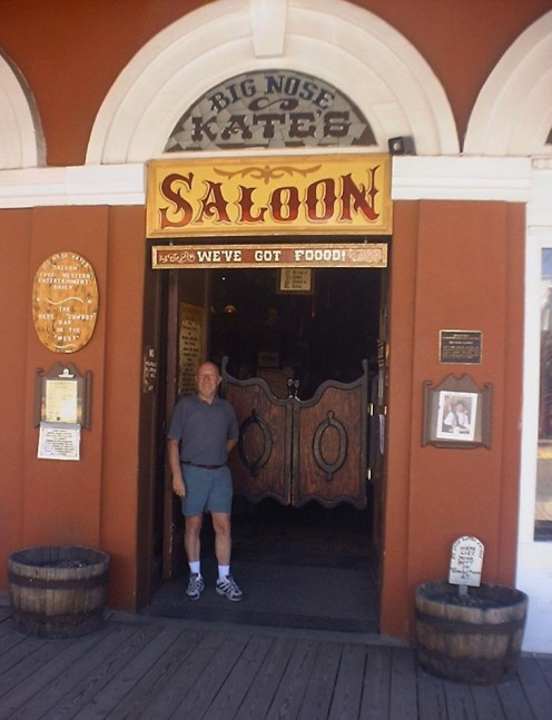 Outside the Saloon of Big Nose Kate