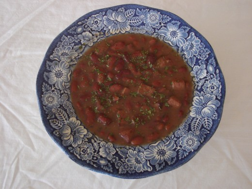 The above recipe for red beans and rice makes one of the most delicious red beans dishes I have ever tasted. It is so delicious.