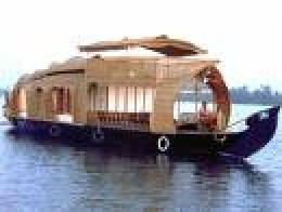 House Boat outside view