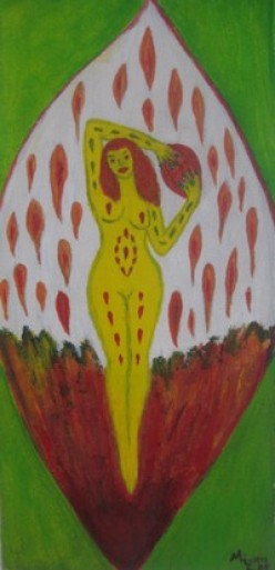 Artistic Nude Art by Injete Chesoni: Carlista the Goddess of Passion and Heat