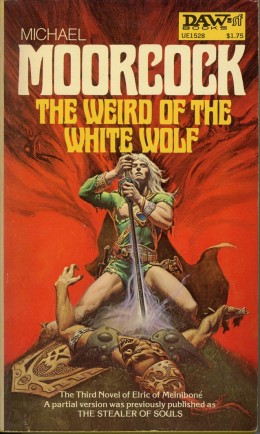 Weird of the White Wolf book cover by Michael Whelan