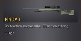 Sniping in COD4 with M40A3