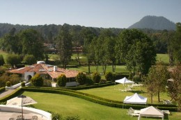 Avandaro golf resort and spa.  In the hills above Valle de Bravo.  A premuim resort.