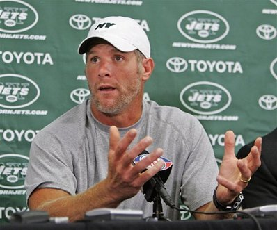 Brett Favre Joins The New York Jets!