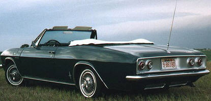 The 1965 Corvair Corsa Convertible