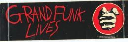 Grand Funk Lives bumper sticker 1981