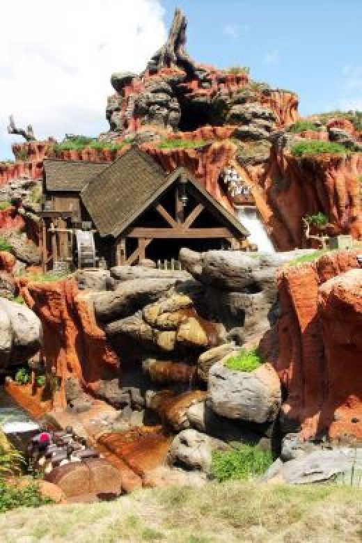 Frontierland: Splash Mountain