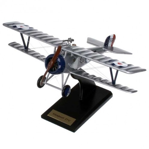 Grid Caldwell became an Ace in a Nieuport.