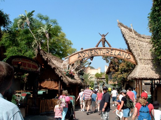 Magic Kingdom: Adventureland