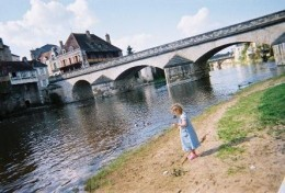 The old Bridge, Argenton Sur Creuse.