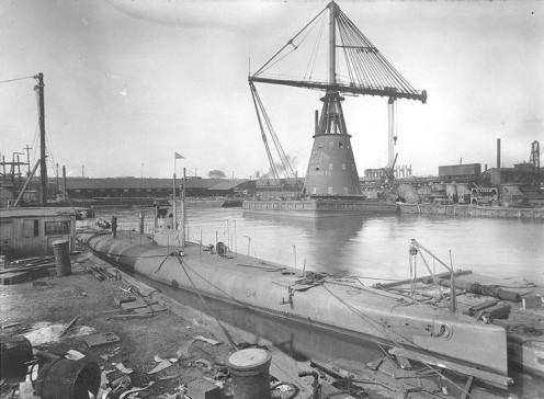 Naval Shipyards, Philadelphia, 1912