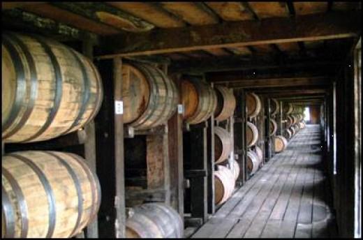 Storing Bourbon