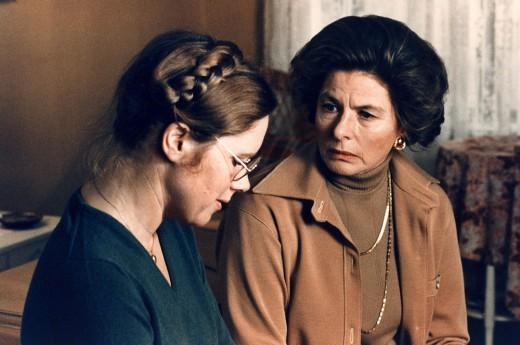 Ingrid and Liv Ullmann in 'Autumn Sonata', 1978