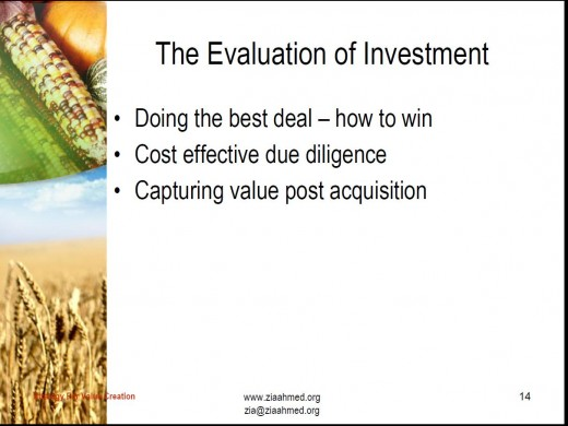 Creating Value 9
