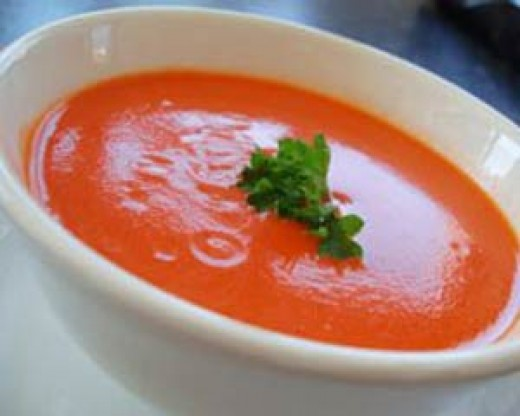If you've never had it you won't believe how great fresh cream of tomato soup tastes.