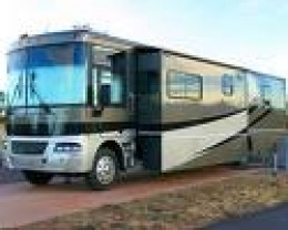 Luxury RV with slide out