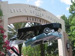Entrance to Aerosmith's Rock 'n' Roller Coaster