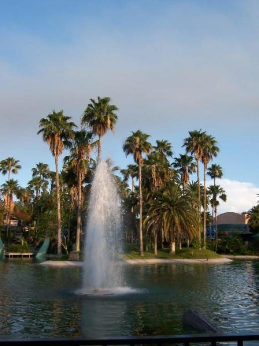 Hollywood Studios Lagoon