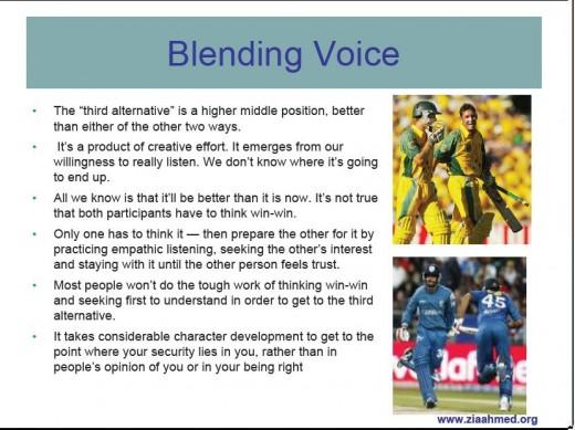 BLENDING VOICE
