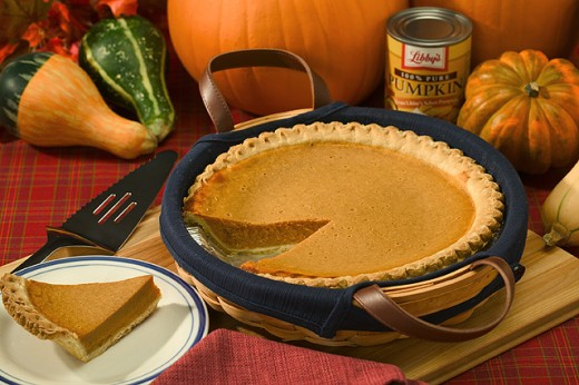 Imagine this pie without the crust - more pumpkin goodness (public domain)