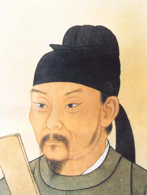 Du Fu. Image from Wikipedia