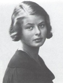 Ingrid aged 14