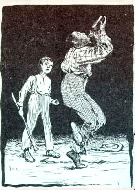 Edward Windsor Kemble  (1861-1933) From the First Edition of  The Adventures of  Huckleberry Finn  By Mark Twain, 1885 Pen and ink 1884