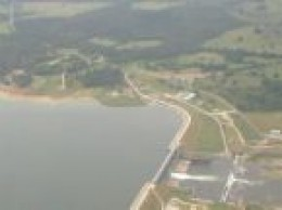 The Dam at Coldspring, Texas