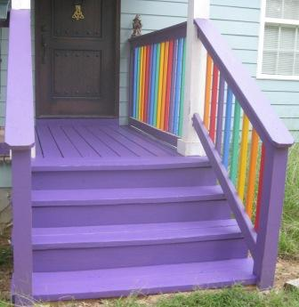 my front steps