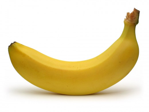 Just ripe banana