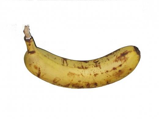 Fully Ripe Banana