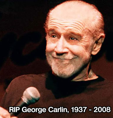Witty and wise.. George Carlin