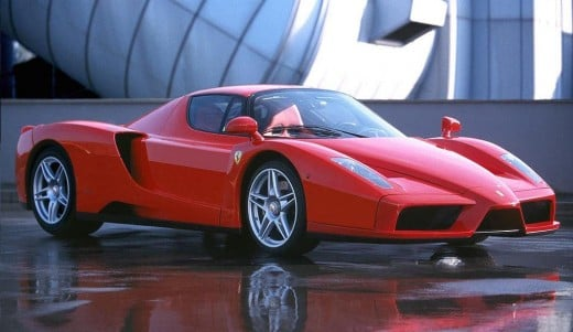 6.Ferrari Enzo Ferrari - 7:25.3 - August 2008
