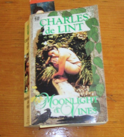 Charles de Lint, a favourite Canadian author. I won't lend this either but... Bob Ewing photo