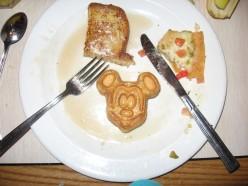 Yum! The many Mickey-shaped foods of Disney World include Mickey shaped waffles