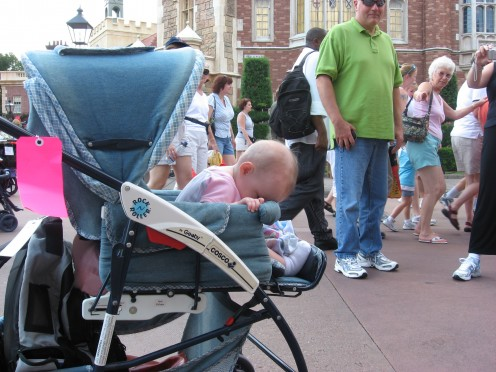 This was Hope's first experience at Disney World