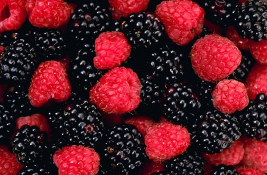 Mixed berries...