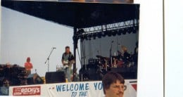Mark Farner common ground band at the Heart of Ohio jam August 11th 1990