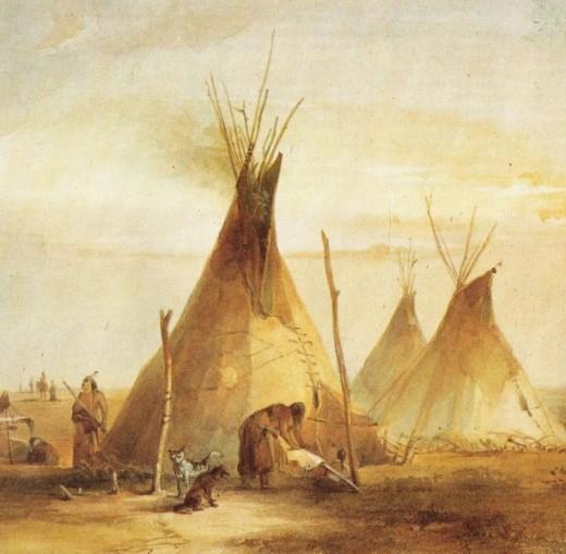 Karl Bodmer, 1833. (public domain)