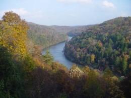 Applachian river