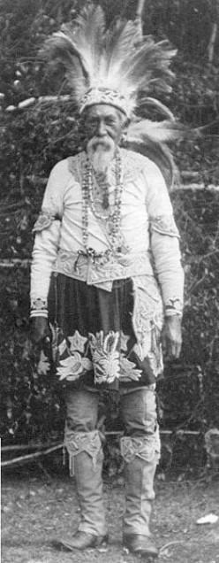 Lester Skeesuk, a Narraganset-Mohegan