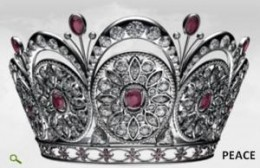 the Peace Crown, crown of the new Miss Universe Miss Venezuela, Stephania Fernandez