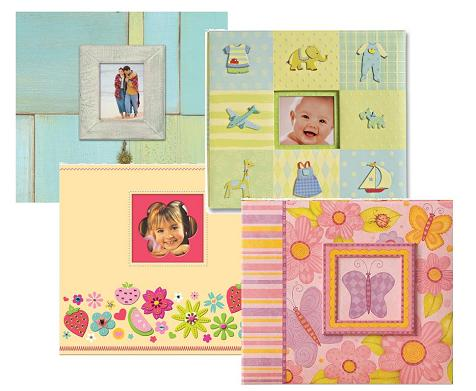 A scrapbook album doesn't have to be plain.