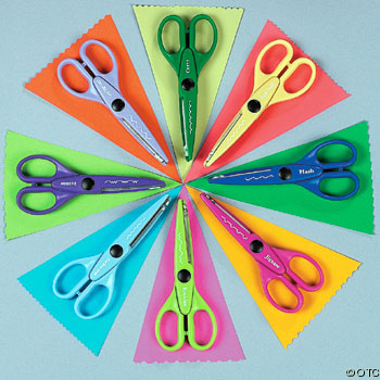 There are many edging scissor designs available.