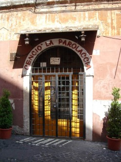A Review of La Parolaccia Restaurant - Roma