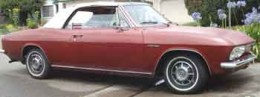 1966 Corvair Corsa Convertible