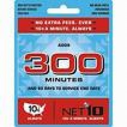 NET10 300 Minute Card