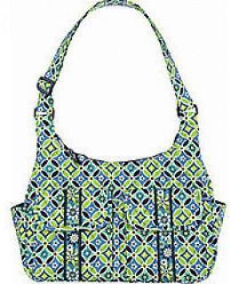 Vera Bradley Green Pattern