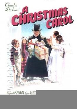 1938 Adaptation of A Christmas Carol, starring Reginald Owen.  Source: Wikipedia