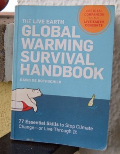 David de Rothschild's Global Warming Survival Handbook reviewed